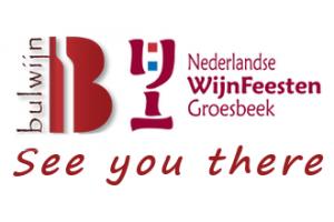 Bulwijn op De Nederlandse Wijnfeesten 2018 | 28, 29 en 30 september, Groesbeek