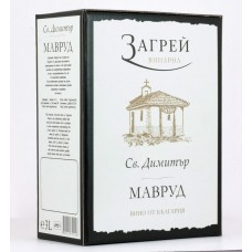 St. Dimitar Mavrud Bag in Box 3L