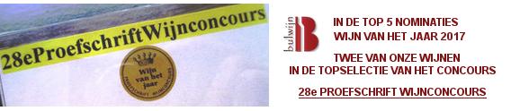 28th Proefschrift Wijnconcours 2016